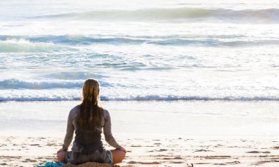 Studies show being near the water puts the mind in a meditative state.
